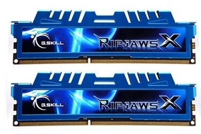 G.Skill Ripjaws X DDR3 1600 PC3-12800 16GO 2x8GO CL9
