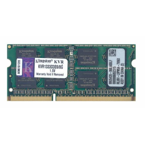 Kingston ValueRAM SO-DIMM DDR3 1333 PC3-10600 8Go CL9