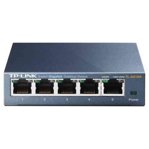 TP-Link TL-SG105E Easy Smart Switch 5 Ports