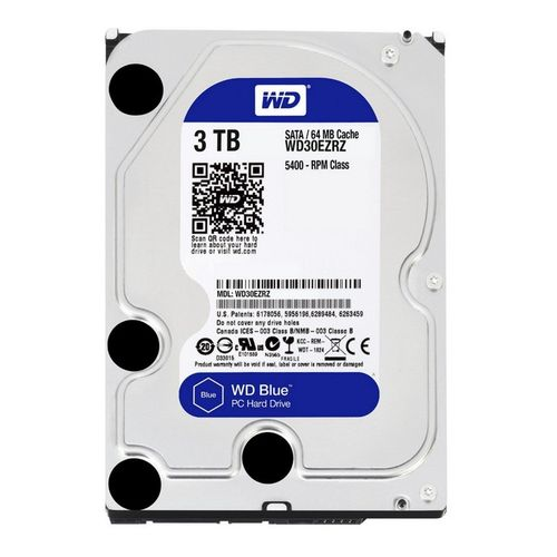 "WD Blue 3To 3.5"" SATA 3"