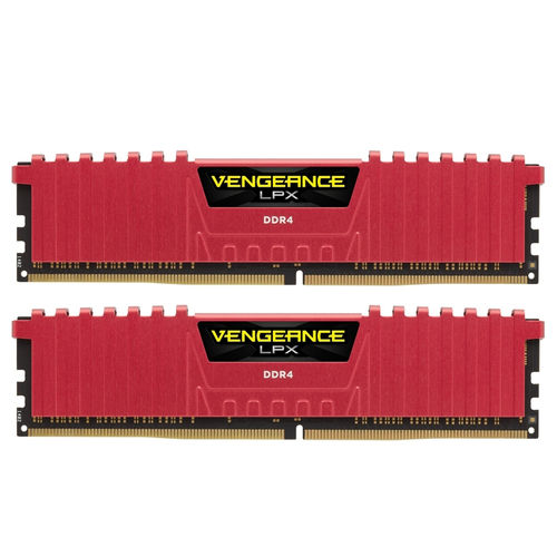 Corsair Vengeance LPX DDR4 2133 PC4-17000 8GB 2x4GB CL13 Rojo
