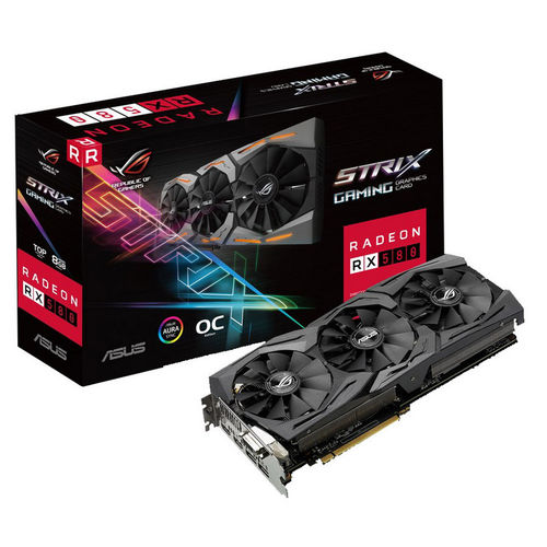 Asus ROG Strix Radeon RX 580 TOP 8G Gaming