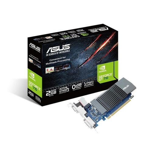 Asus GeForce GT 710 2GO GDDR5 (Support inclus)
