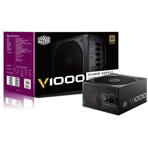 Cooler Master V Series 1000W 80Plus Gold Full Modular