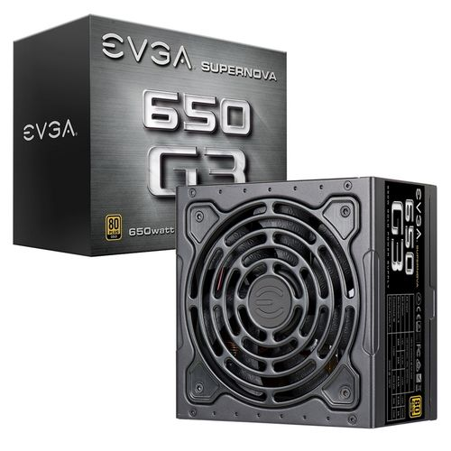 EVGA Supernova G3 650W 80 Plus Gold Modular