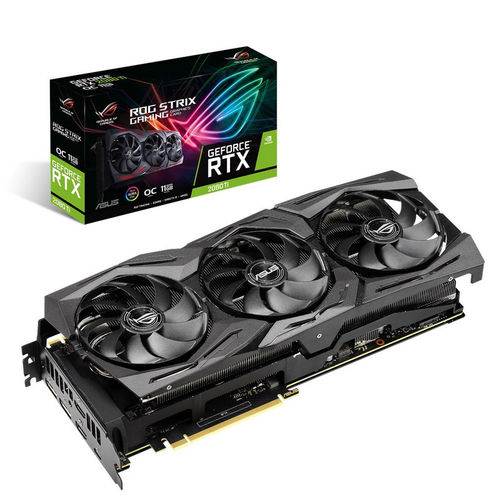 Asus ROG Strix GeForce RTX 2080 Ti OC edition 11GO GDDR6