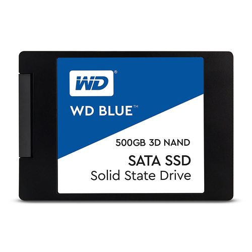 WD Blue 3D Nand SSD SATA 500GO