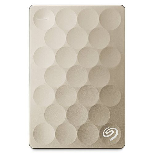 "Seagate Backup Plus Ultra Slim 2TO 2.5"" USB 3.0 Dorado"