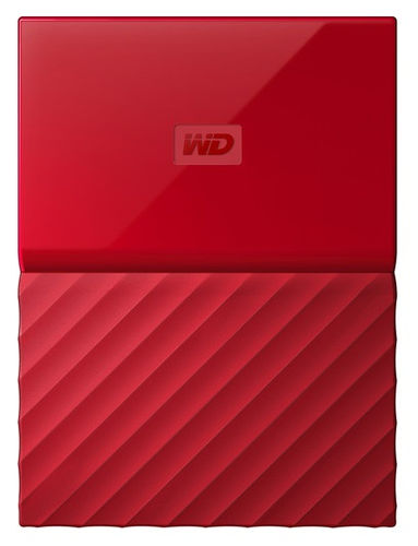 "WD My Passport 3 TB 2.5"" USB 3.0 Rouge"
