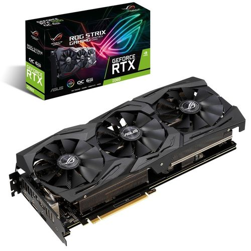 Asus Rog Strix Gaming GeForce RTX 2060 OC 6GO GDDR6