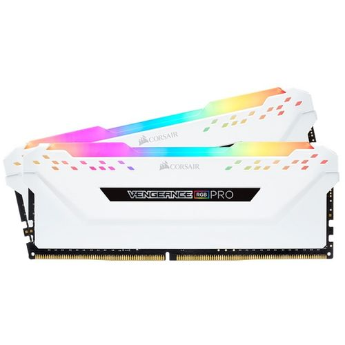 Corsair Vengeance RGB Pro DDR4 3200 PC4-25600 32GB 2x16GB CL16 Blanco