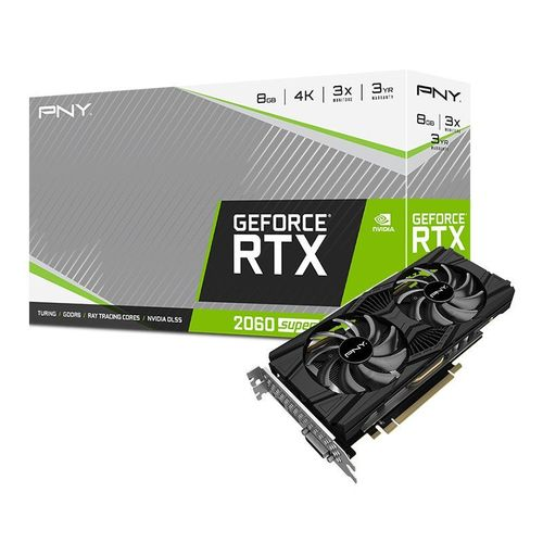 PNY GeForce RTX 2060 Super Dual Fan 8GO GDDR6