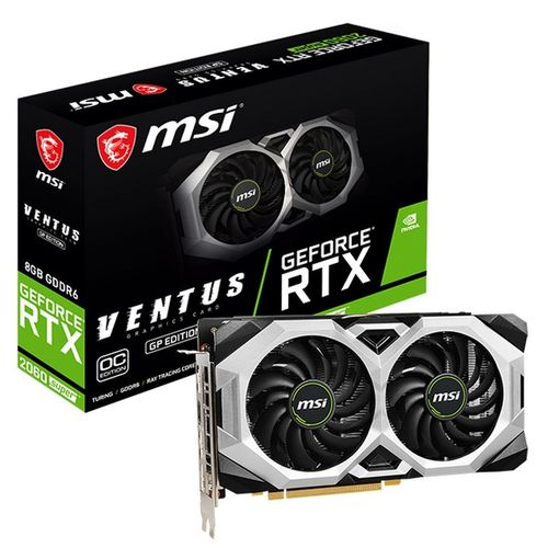 MSI GeForce RTX 2060 SUPER Ventus GP OC 8GB GDDR6