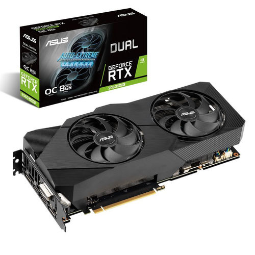 Asus Dual GeForce RTX 2060 Super EVO OC Edition 8GB GDDR6