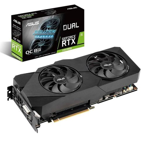 Asus Dual GeForce RTX 2060 SUPER EVO V2 OC Edition 8GB GDDR6
