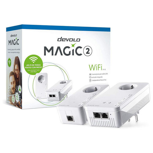 Devolo Magic 2 WiFi Adaptador Powerline Kit de Iniciación