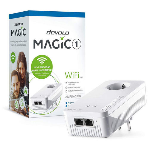 Devolo Magic 1 WiFi Adaptador Powerline Ampliación